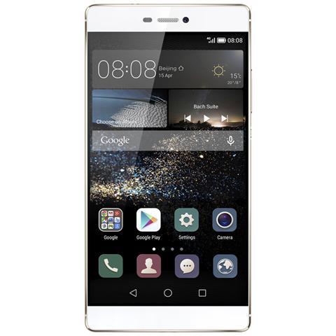 Ascend P8 Champagne Display IPS 5.2'' Full HD Octa Core Ram 3GB Storage 16GB + Slot MicroSD 4G / LTE WiFi Fotocamera 13 Mpx / 8 Mpx Android 5 - Italia