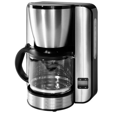 MD 16230 Macchina Caffè Americano 12 Tazze Potenza 1080 Watt Colore Nero / Acciaio