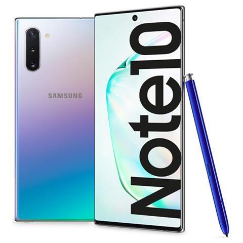 Galaxy Note10 Aura Glow 256 GB Display 6.3'' FullHD+ Tripla Fotocamera S-Pen Android Tim I...