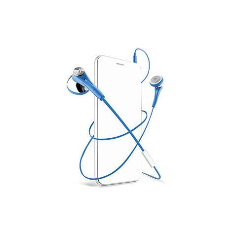 CELLULAR LINE Auricolare 3.5 Firefly Blu