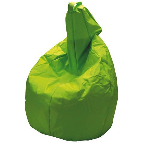 KING HOME Pouf Arredo Modello Comodone Alto Colore Verde