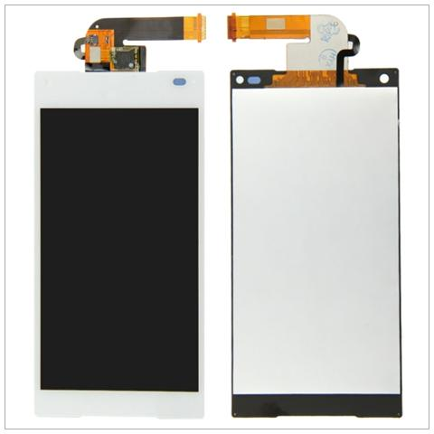 BOMA Display Schermo Touch Screen Lcd Sony Xperia Z5 Compact E5823 Bianco