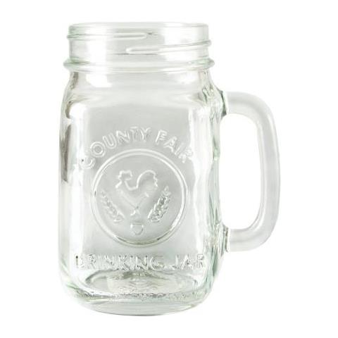 Drinking Jar 16 Oz 473 Ml Gold Screw Attrezzatura Barman Bartender Rs9260