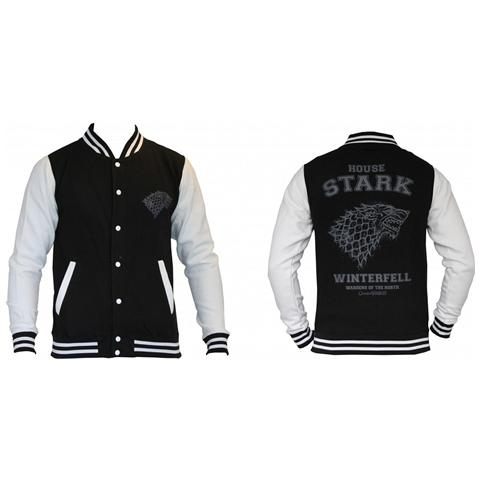 TimeCity Game Of Thrones - House Stark (Giacca College Unisex Tg. S)