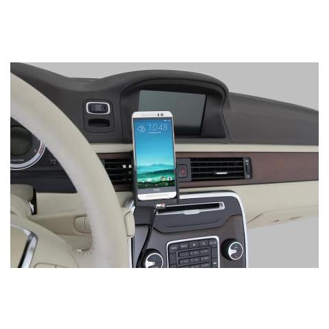 BRODIT 512722 Auto Active holder Nero supporto per personal communication
