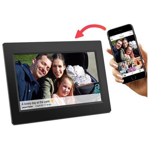 Pff-710 Cornice Digitale Wifi Ips Touch 7'' 1024 X 600 Pixel 8 Gb Nero