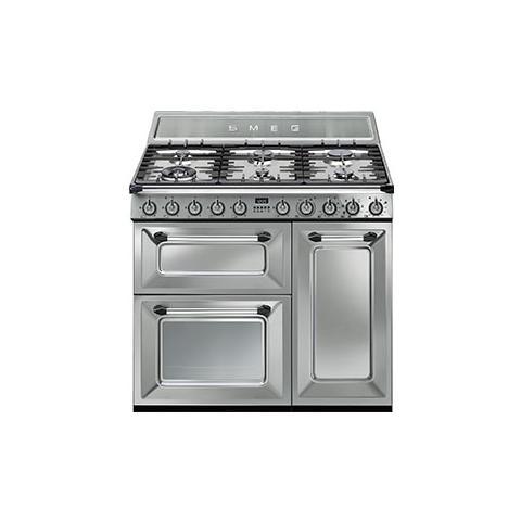 Cucina TR93X Victoria con Forno Elettrico Dimensioni 90x60 cm Colore Inox