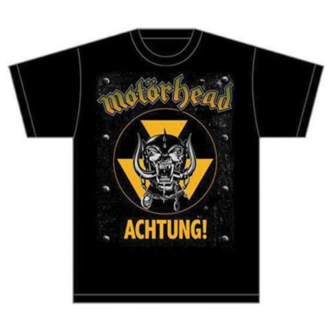 ROCK OFF Motorhead - Achtung! (T-Shirt Unisex Tg. M)