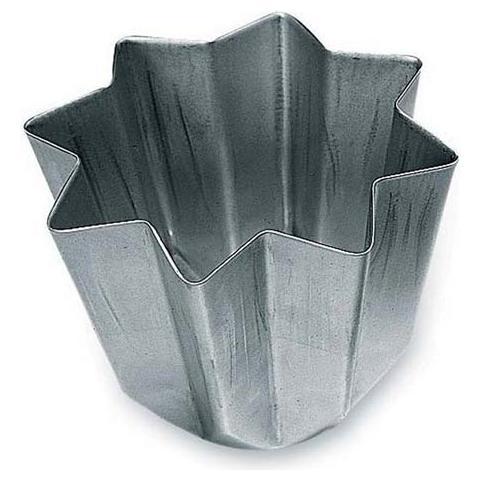 Stampo pandoro alluminio anodizzato 500gr