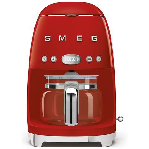 Macchina Caffè Americano 10 Tazze Potenza 1050 Watt Colore Rosso