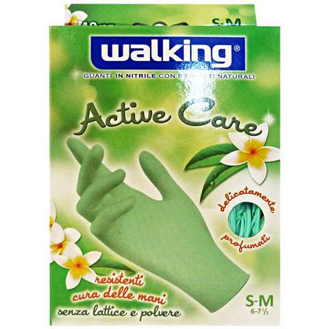 Walking Guanti X 40 Active Care S-m Nitrile Walking Giardinaggio