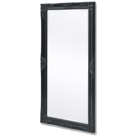 vidaXL - Specchio Da Parete Stile Barocco 120x60 Cm Nero - ePrice