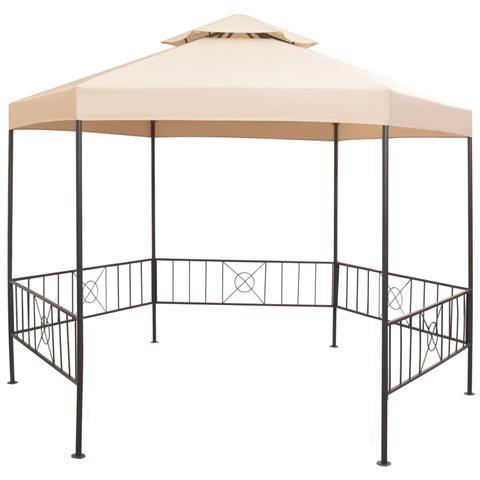 Gazebo Padiglione Tenda Da Giardino 323x265 Cm