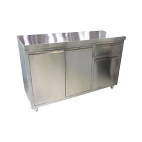 Retrobase Macchina Caffe' Acciaio Inox Dim. 1500x650x1130 Bar Risto