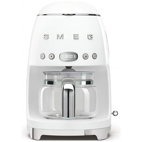 Macchina Caffè Americano 10 Tazze Potenza 1050 Watt Colore Bianco