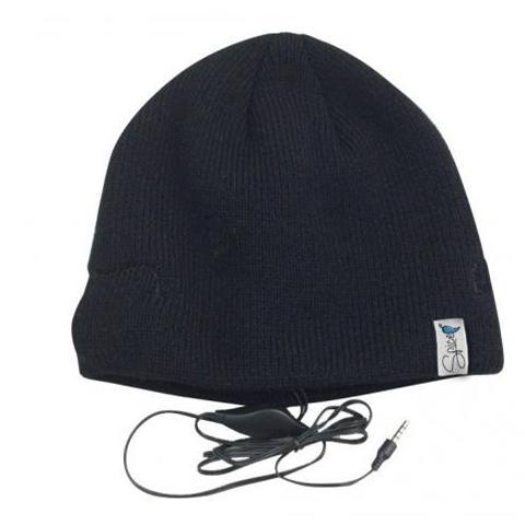 SPICE Cappello con cuffie integrate. Colore nero