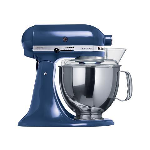 Image of 5KSM150PSEBU Robot da Cucina Planetaria Capacità 4.8 Litri Potenza 300 Watt Colore Blu Cobalto