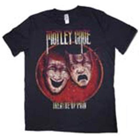 ROCK OFF Motley Crue - Puff Print Theatre Of Pain Black (T-Shirt Unisex Tg. L)