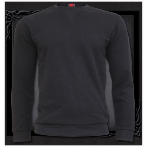 SPIRAL Urban Fashion Heavy Pique Sweat Shirt (T-Shirt Unisex Tg. L)