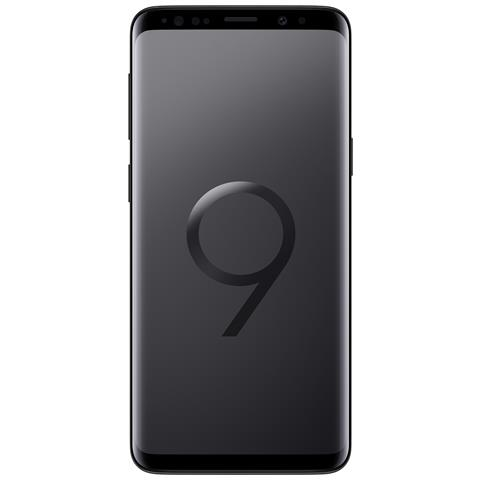 """Galaxy S9 Nero 64GB 4G Dual Sim Impermeabile Display 5.8"""" Quad HD Slot MicroSD Fotocamera..."""