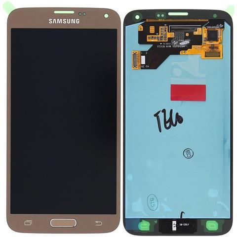 Image of Display Lcd Touch Screen Originale Samsung Per Galaxy S5 Neo Sm-g903f Gold Oro