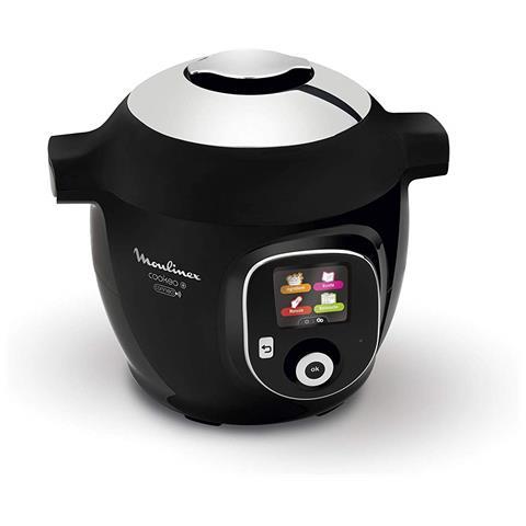 Multicooker Cookeo + Connect Capacità 6 L Potenza 1200 W Colore Nero / Cromo