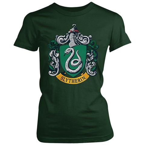 PHM Harry Potter - Slytherin Gts (T-Shirt Donna Tg. S)