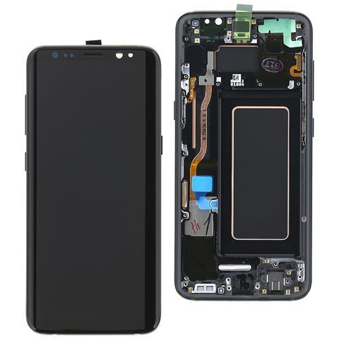 Image of Lcd Touch Originale Samsung Display Schermo Nero Per Samsung Galaxy S8 Sm-g950