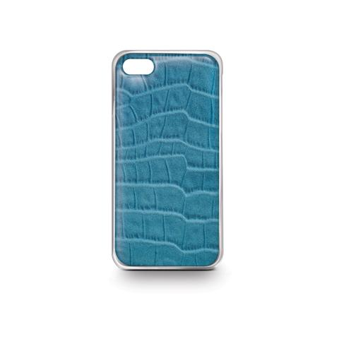 CELLY Light Blue Croco Cover For Iphone 6