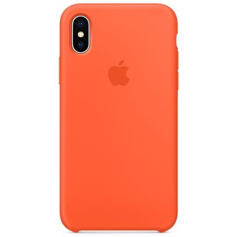 APPLE Cover per iPhone X Colore Papaya