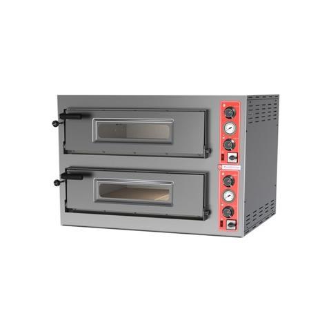 Forno Pizza Pizzeria Elettrico 4+4 Pizze 400 Volt Rs3646