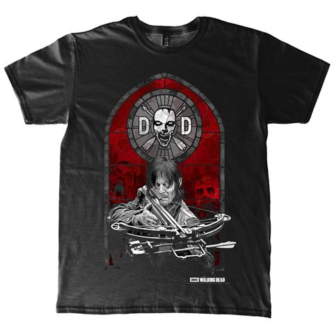 PHM Walking Dead (The) - Stained Glass (T-Shirt Unisex Tg. L)