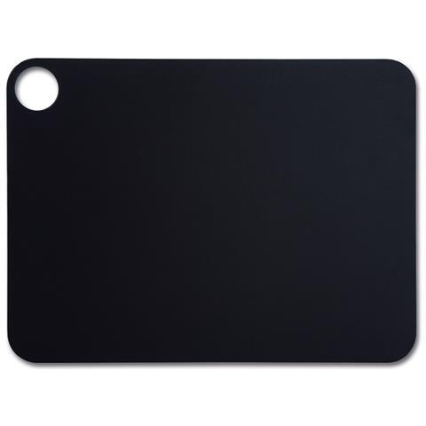 Taglieri - Resina E Fibra Di Cellulosa 37,7 X 27,7 Cm E 6,5 Mm Spessore - Colore Nero
