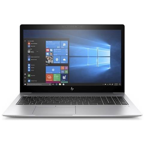 """HP Notebook EliteBook 755 G5 Monitor 15.6"""" Full HD AMD Ryzen 7 2700U Quad Core Ram 8GB SSD 512GB 3xUSB 3.0 Windows 10 Pro"""