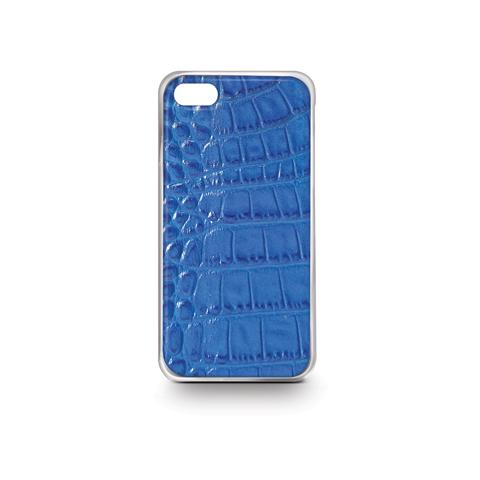CELLY Blue Crocodile Cover For Iphone 6