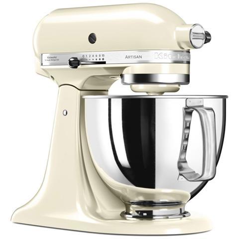 Image of 5KSM125EAC Robot da Cucina Potenza 300 Watt Capacità Ciotola 4,8 Litri Colore Crema
