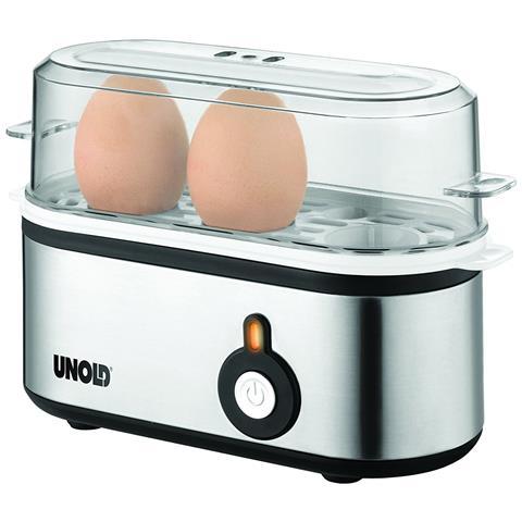 Cuoci Uova Potenza 210 W Colore Nero e Acciaio Inox