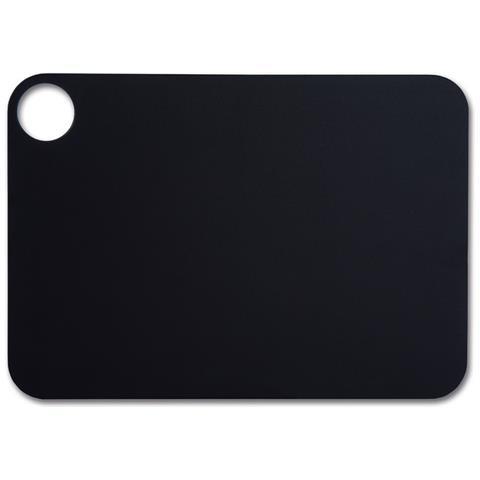 Taglieri - Resina E Fibra Di Cellulosa 33 X 23 Cm E 6,5 Mm Spessore - Colore Nero