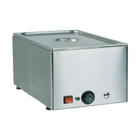 Bagnomaria Tavola Calda Riscaldata Acciaio Inox Cucina 1 Gn 1/1 Rs0149