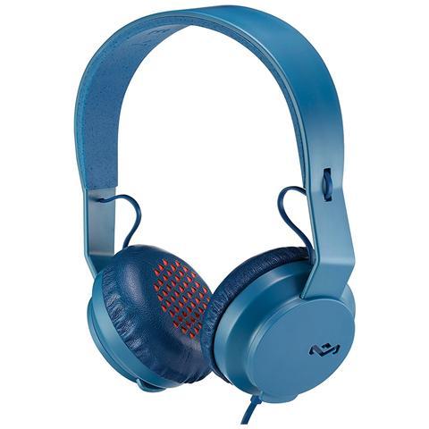NILOX Cuffie con Microfono Cablato Colore Blu