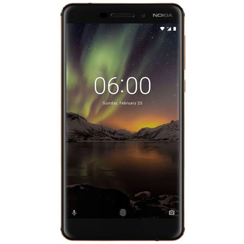 "NOKIA N6 (2018) Nero 32 GB 4G / LTE Dual Sim Display 5.5"" IPS Slot Micro SD Fotocamera 16 Mpx Android Europa"