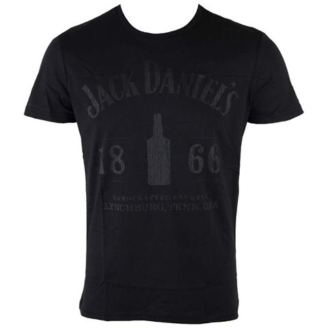 BIOWORLD Jack Daniel's - 1866 Black (T-Shirt Unisex Tg. S)