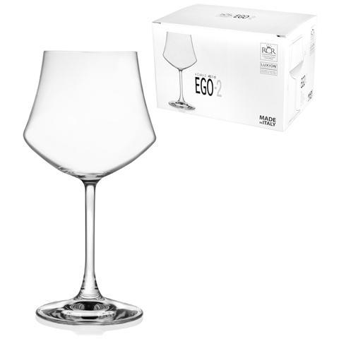 Confezione 6 Calici In Vetro Ego Acqua 2 Cl43.1