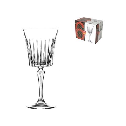 Confezione 6 Calici In Vetro Timeless Vino 23 Tavola