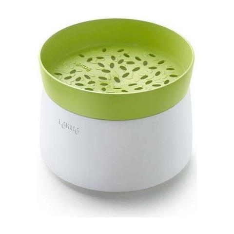 Lekue Cuoci riso a vapore x microonde silicone verde