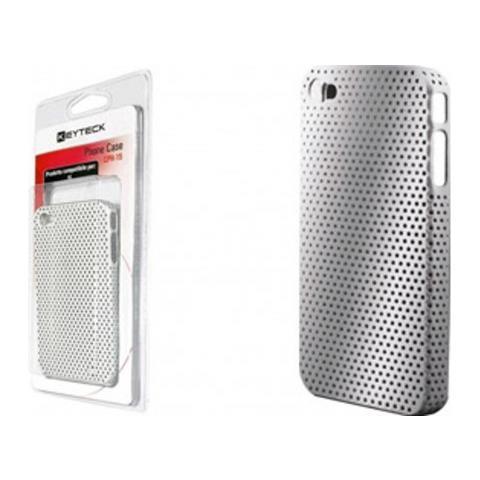 Virus Custodia Cover Proteggi I-phone In Plastica Keyteck Silver Cph-15