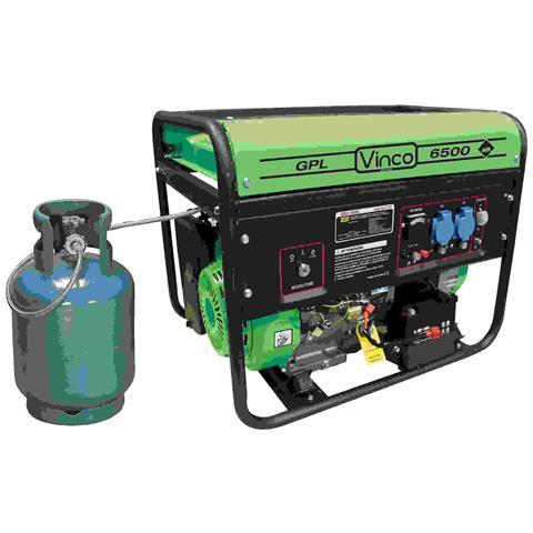Image of Generatore Eco Gpl Propano Butano Avr Avv. Elettrico 4,8 Kw 60171p