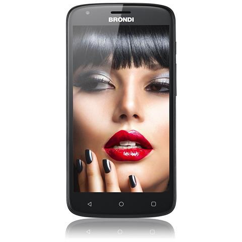 "BRONDI 730 Nero 8 GB 4G / LTE Dual Sim Display 5"" HD Slot Micro SD Android Europa"