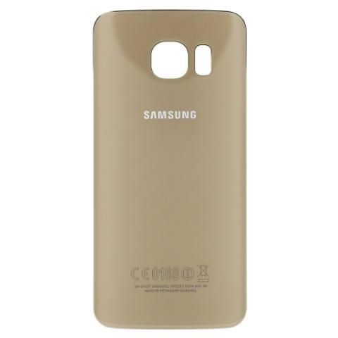 SAMSUNG GH82-09602C, Rear housing cover, , Galaxy S6 Edge SM-G925F, Oro