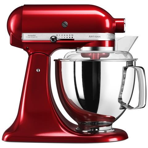 5KSM175PSECA Robot da Cucina 7 Accessori Inclusi Potenza 300 W Capacità 4.8 Litri Colore Rosso Mela